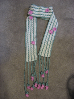 Ravelry Vogue Knitting On The Go Crocheted Scarves Two