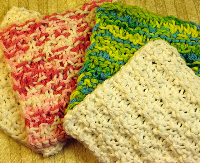 Ravelry Sugar Babies Knitted Washcloths For Baby Pattern By Meghan