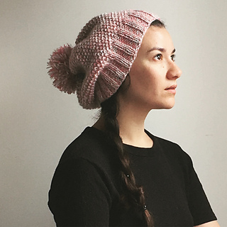 0a2aa80f9 Super Slouchy Beanie Hat pattern by Seraphym Fibres