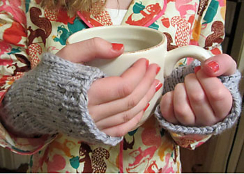 Ravelry Easy Peasy Fingerless Mitts Pattern By Kathleen Cubley