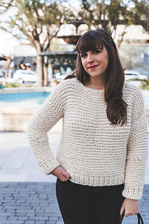 1a1095256 Ravelry  Simple Knit Sweater pattern by Ashleigh Kiser