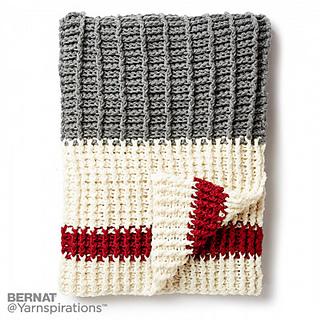 Ravelry: Lumberjack Crochet Throw pattern by Yarnspirations Design