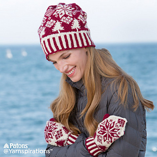 Ravelry  Northern Fair Isle Knit Mittens pattern by Nicole Winer ac6f1e3f64f8