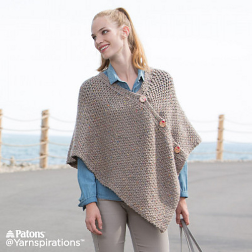 Ravelry Crochet Poncho Pattern By Katherine Poole Fournier