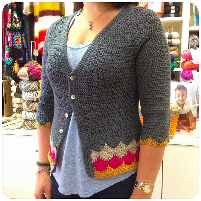 Ravelry Libertas Cardigan Pattern By Shara Made