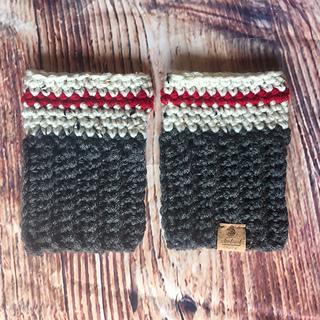c9a7f0699de Ravelry  Lumberjack Boot Cuffs pattern by Shari Reid