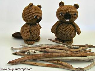 Lion Amigurumi To Go : Ravelry amigurumi beaver pattern by sharon ojala