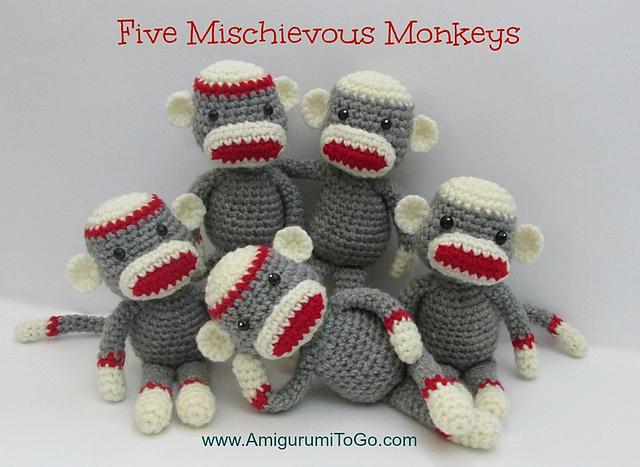 Ravelry Crochet Along Sock Monkey Pattern By Sharon Ojala