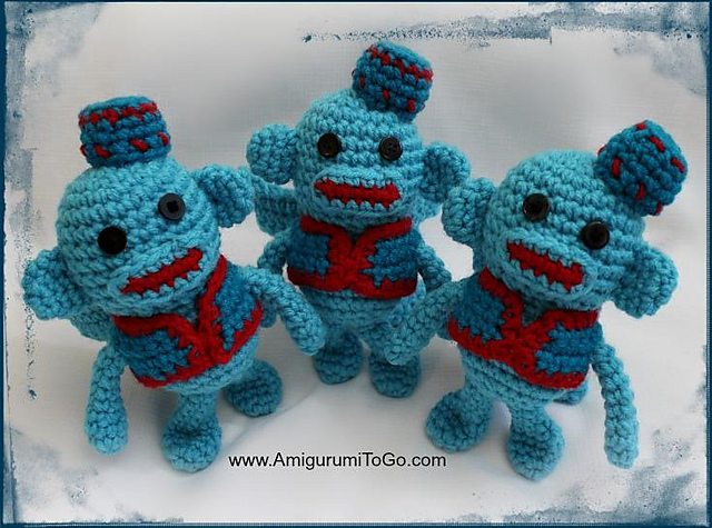 Amigurumitogo Sock Monkey : Ravelry flying sock monkey pattern by sharon ojala