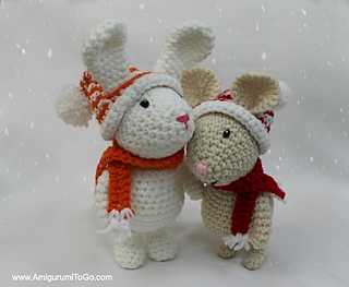 Amigurumi Bunny Sharon Ojala : Ravelry: Winter Bunny pattern by Sharon Ojala