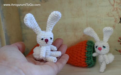 Amigurumi Bunny Sharon Ojala : Ravelry: Flossy The Tiny Bunny pattern by Sharon Ojala