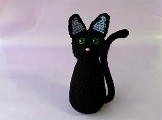Ravelry Black Cat Plushie Pattern By Shehla Ahmed