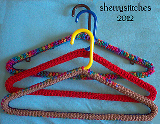 Ravelry simple hanger cover crochet version pattern by sherry l sherry l farley dt1010fo