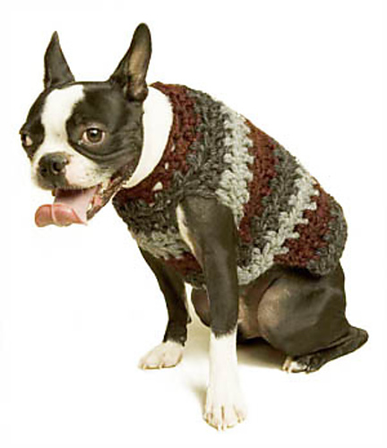 Ravelry Striped Dog Sweater Pattern By Shiri Mor