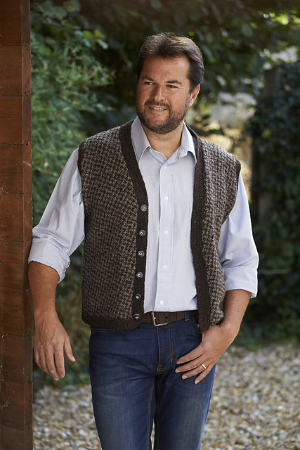 Ravelry: Fitted Fairisle Waistcoat pattern by Meg Crowther