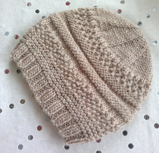 Ravelry  Simple sample hat pattern by Christine Roy 03369b3a0