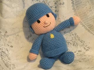 Pocoyo Amigurumi Nacións : Ravelry: pocoyo amigurumi doll pattern by cecilia siempre josefina
