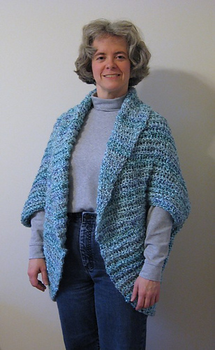 Ravelry Simple Crochet Shrug 90689 Pattern By Lion Brand