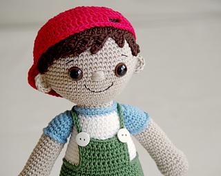 Amigurumi Doll Free Pattern : Ravelry tobias amigurumi boy pattern by maarja härsing värk