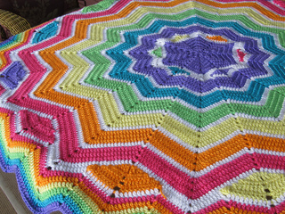 Ravelry Whimsical Round Ripple 6 To 24 Points Pattern By