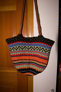 Ravelry Felted Fair Isle Bag Pattern By Pam Allen