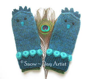 Peacock_mittens_snow_day_artist_small2