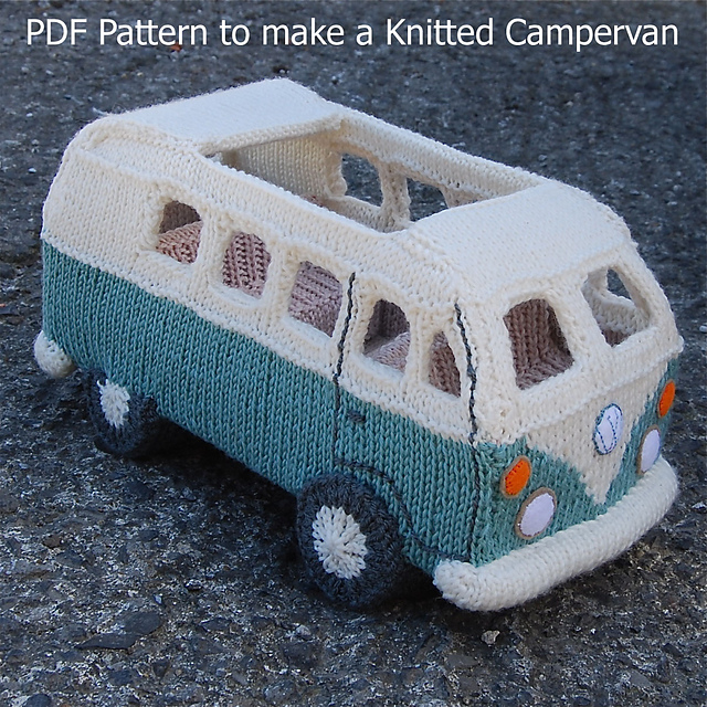 Ravelry Knit Yourself A Campervan Based On The Vw Splitscreen