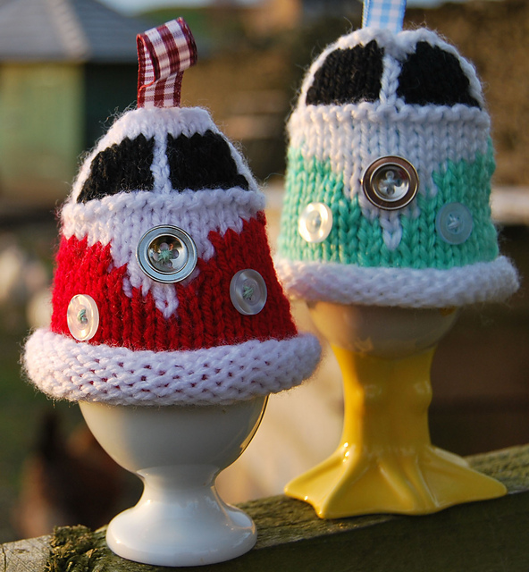 Ravelry Campervan Egg Cosy Based On The Vw Pattern By Tracy