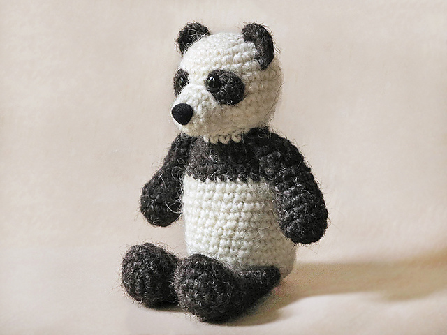 Ravelry Poms The Panda Pattern By Sonja Van Der Wijk