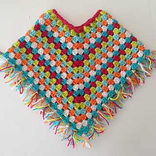 Ravelry Fringed Baby Poncho Pattern By Sue Sooz Simmons