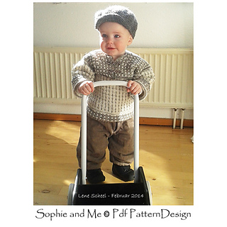 35707ee3d Ravelry  Fair Isle Style Cardigan for Kids pattern by Sophie and Me ...