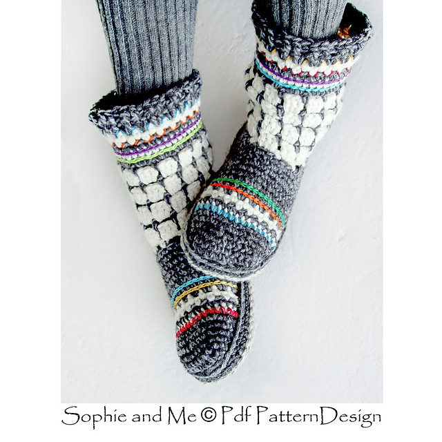 Indie Design Gift Along 2018 Slipper Bootie Favourites 25