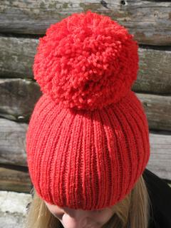 d1c48164c Giant Pom-Pom Hat pattern by Haloopa Joop - Ravelry