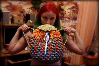 Ravelry: Rainbow Dragon Backpack with Crocodile St Video ...