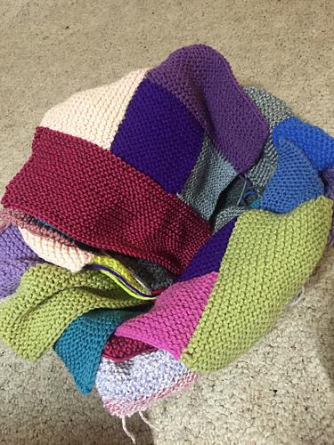Knitting Without Needles Blanket : Knitting without needles