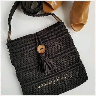 Ravelry The Cobble Crossbody Bag Pattern By Soul Crochet By Yours Truly