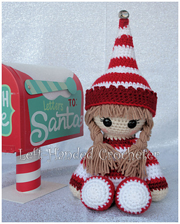 Ravelry Elf Cuddle Buddy Pattern By The Left Handed Crocheter
