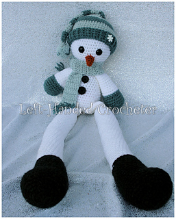 Ravelry Snowman Draft Stopper And Shelf Sitter Pattern By