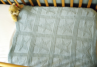 Ravelry Easy Chunky Baby Blanket With Stars Pattern By Sproglets Kits
