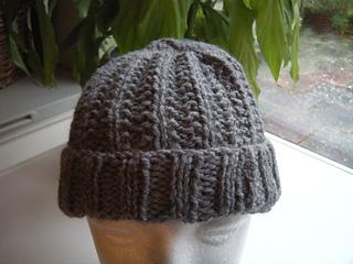 Aldi Knitting Pattern Baby Blanket : Ravelry: Mistaken Rib Hat pattern by Samantha Paya