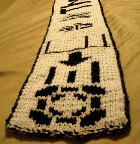 Ravelry Portal Double Knit Scarf Pattern By Starbeamer Patterns