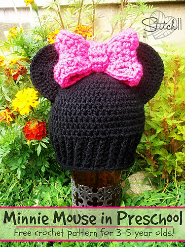 Ravelry Minnie Mouse In Preschool Pattern By Corina Gray