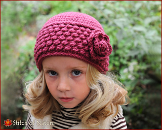 413066bf64a Ravelry  The Rosedale Vintage Hat pattern by Jenia Daugherty