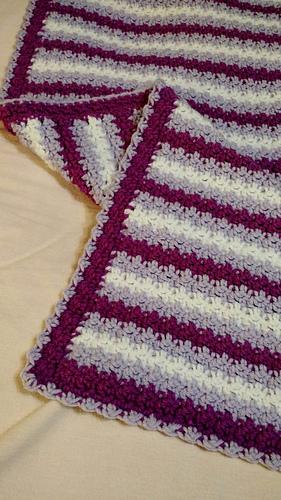 Ravelry: No Holes Baby Blanket pattern by Linda Davie