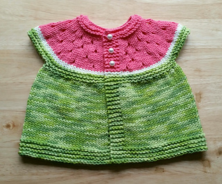 Ravelry Watermelon Baby Cardigan Pattern By Stitchylinda