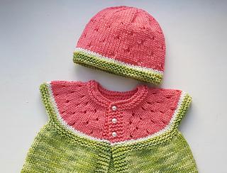 Ravelry  Watermelon Baby Hat pattern by Stitchylinda Designs 713ecf9cd89