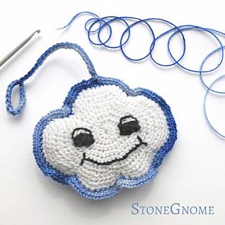 Ravelry Smiley Cloud Pattern By Stonegnome Aka Heidi Eisner