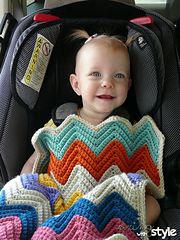 Chevron_love_car_seat_blanket_action_small