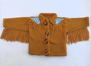 9fc8582d8857 Ravelry  Fringed Jacket pattern by Katherine Teixeira