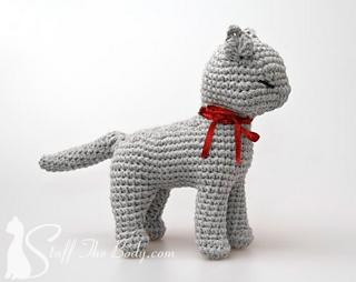 Amigurumi Dog Crochet Patterns : Ravelry: sandy the cat amigurumi pattern by stuffthebody